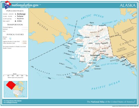 kaart alaska